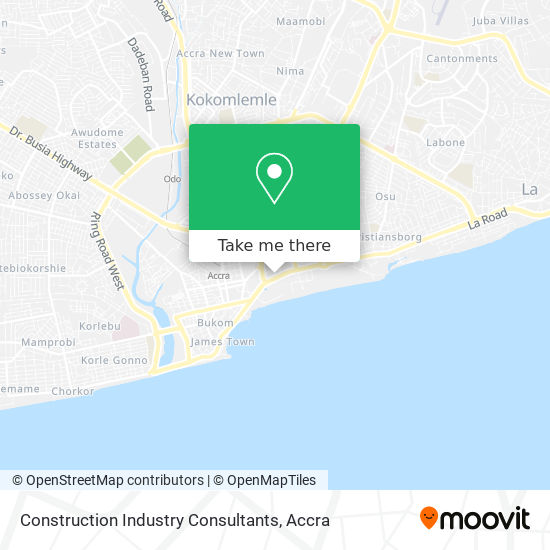 Construction Industry Consultants map