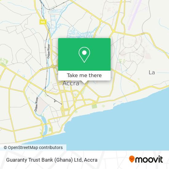 Guaranty Trust Bank (Ghana) Ltd map