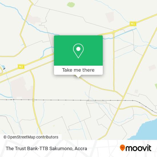 The Trust Bank-TTB Sakumono map