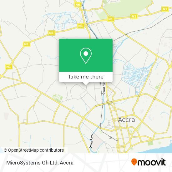 MicroSystems Gh Ltd map