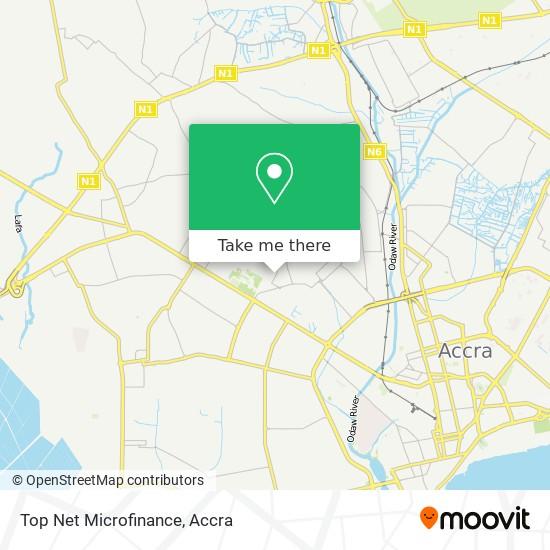 Top Net Microfinance map
