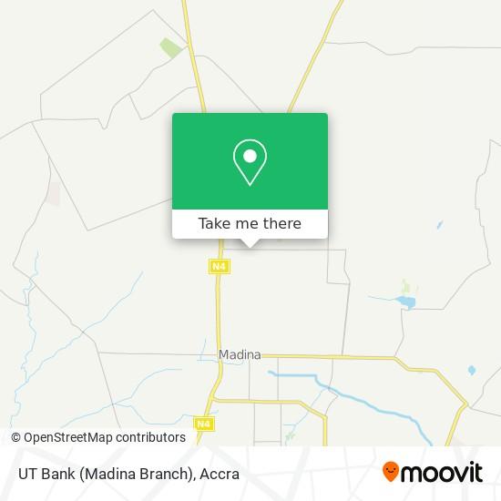 UT Bank (Madina Branch) map