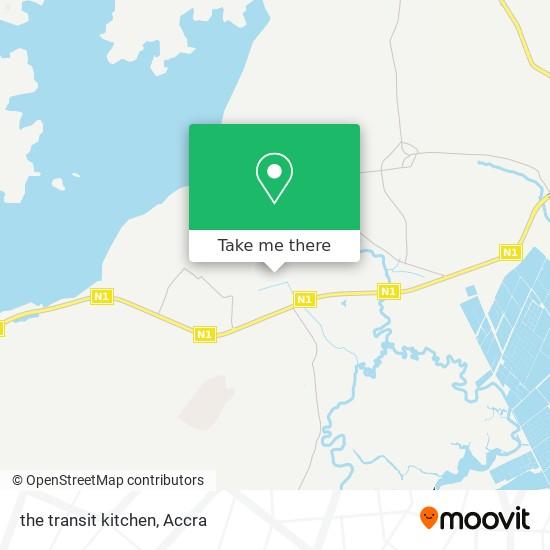 the transit kitchen map