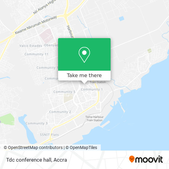 Tdc conference hall map