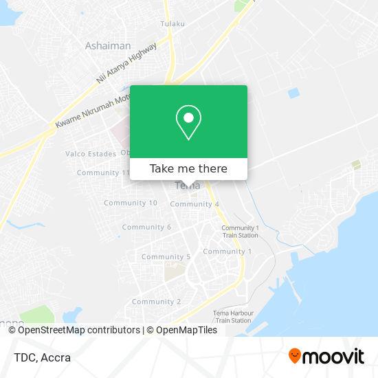 TDC map
