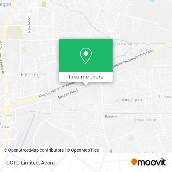 CCTC Limited map