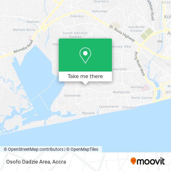 Osofo Dadzie Area map
