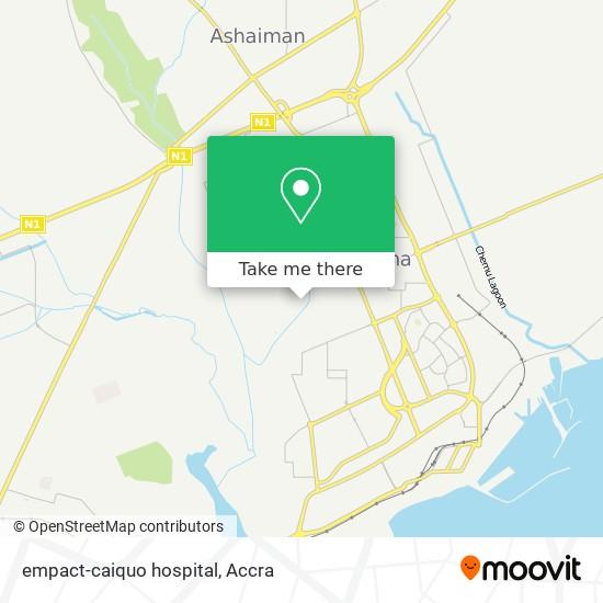 empact-caiquo hospital map