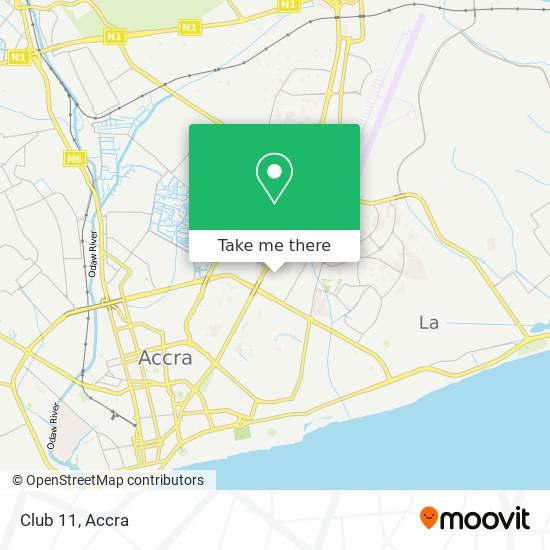 Club 11 map