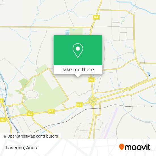 Laserino map