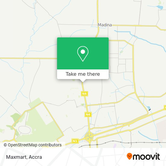 Maxmart map