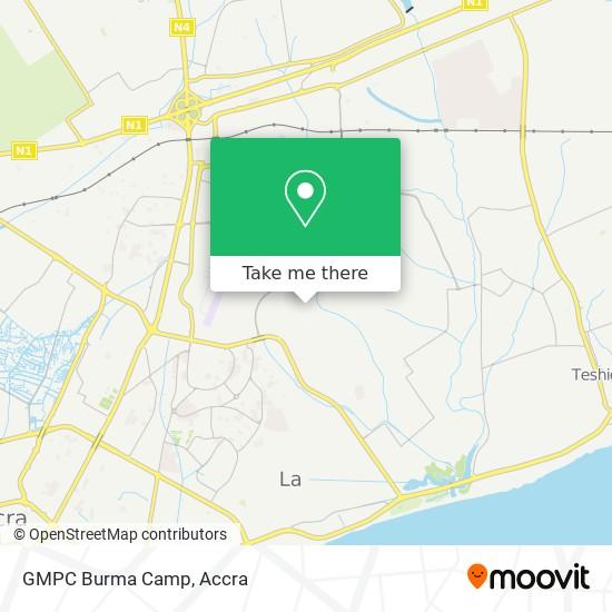 GMPC  Burma Camp map