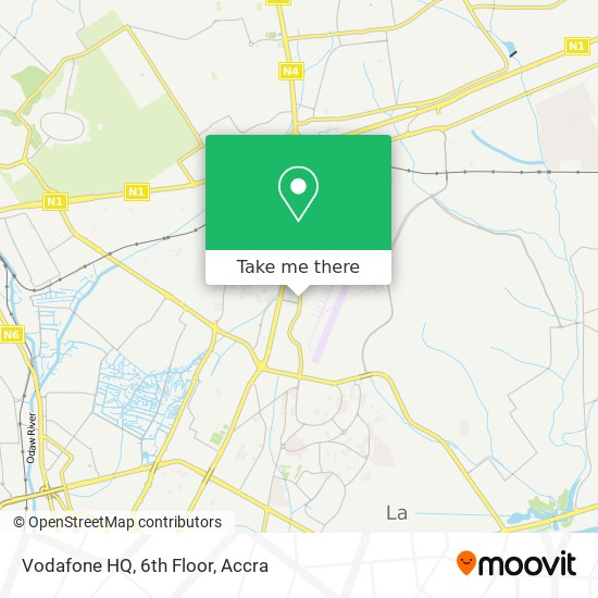 Vodafone HQ, 6th Floor map