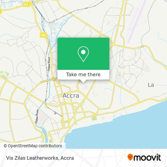 Vis Zilas Leatherworks map