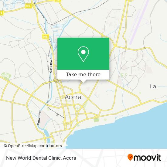 New World Dental Clinic map