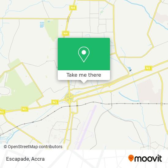 Escapade map