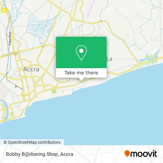 Bobby B@rbering Shop map