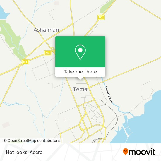 Hot looks map