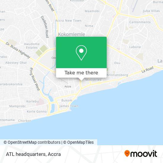 ATL headquarters map
