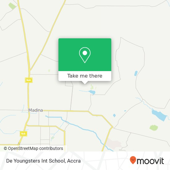 De Youngsters Int School map
