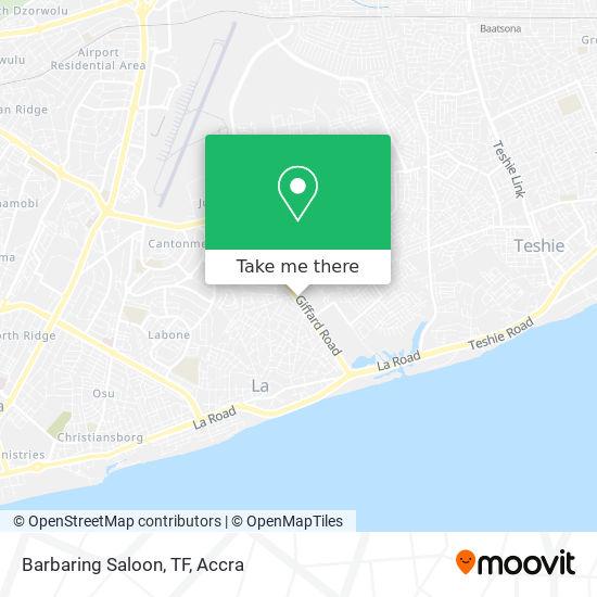 Barbaring Saloon, TF map