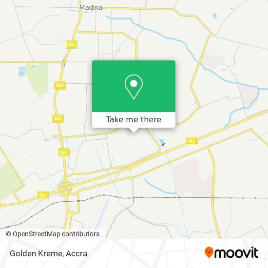 Golden Kreme map