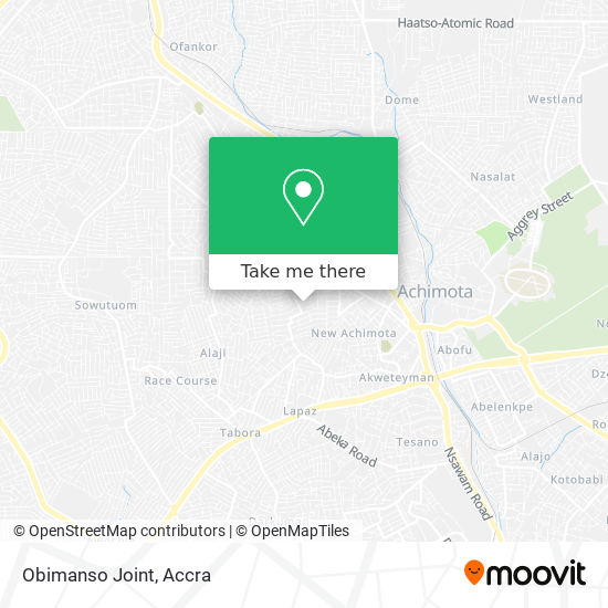 Obimanso Joint map