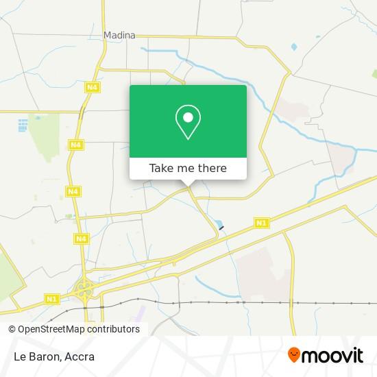 Le Baron map