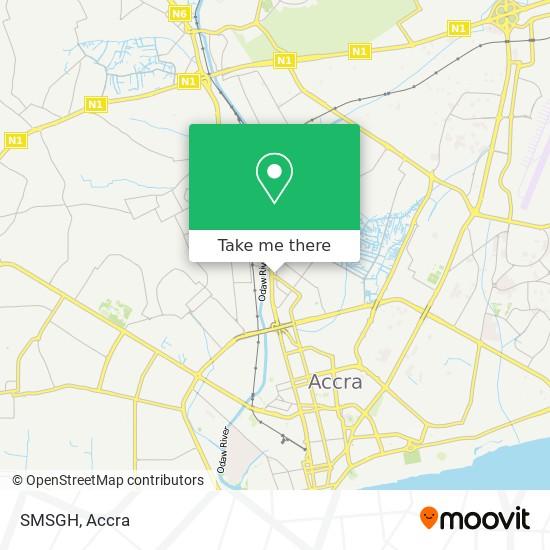 SMSGH map