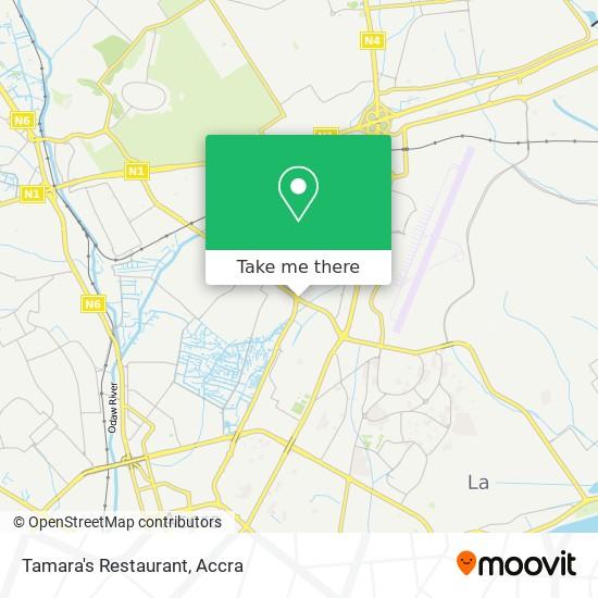 Tamara's Restaurant map