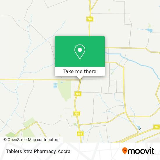 Tablets Xtra Pharmacy map