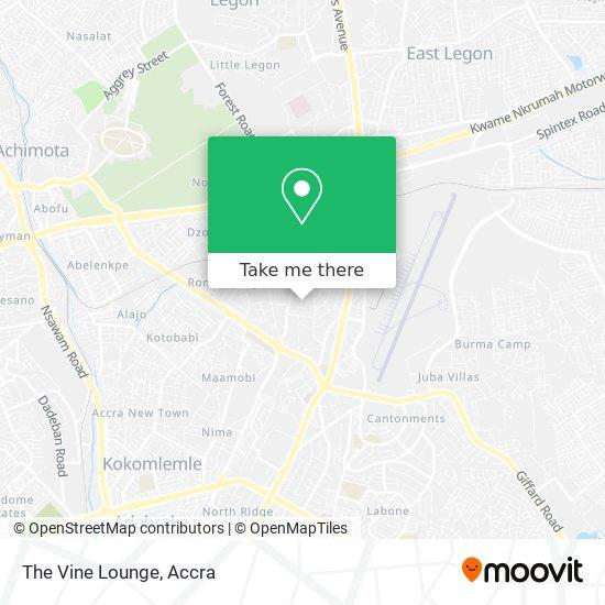 The Vine Lounge map