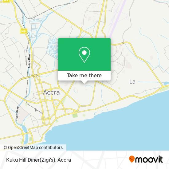 Kuku Hill Diner(Zigi's) map