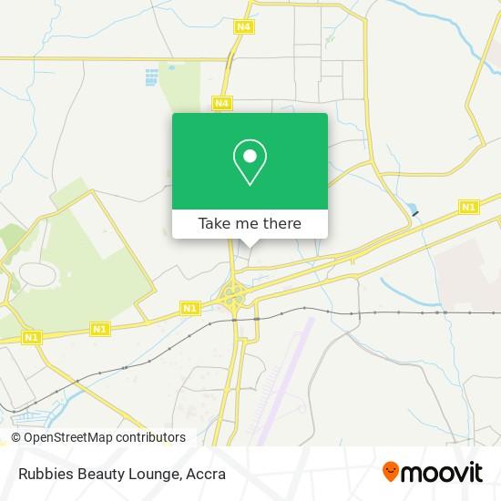 Rubbies Beauty Lounge map