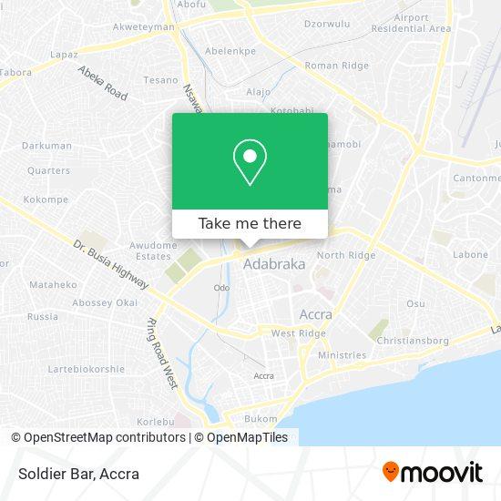 Soldier Bar map
