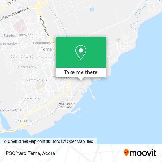 PSC Yard Tema map