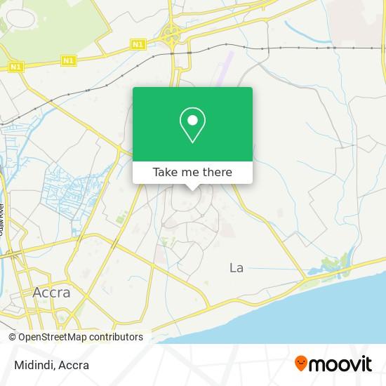 Midindi map