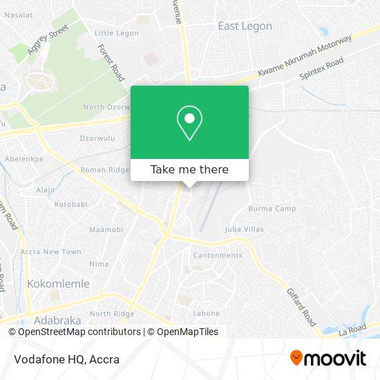 Vodafone HQ map