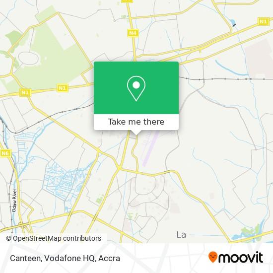 Canteen, Vodafone HQ map
