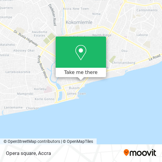 Opera square map
