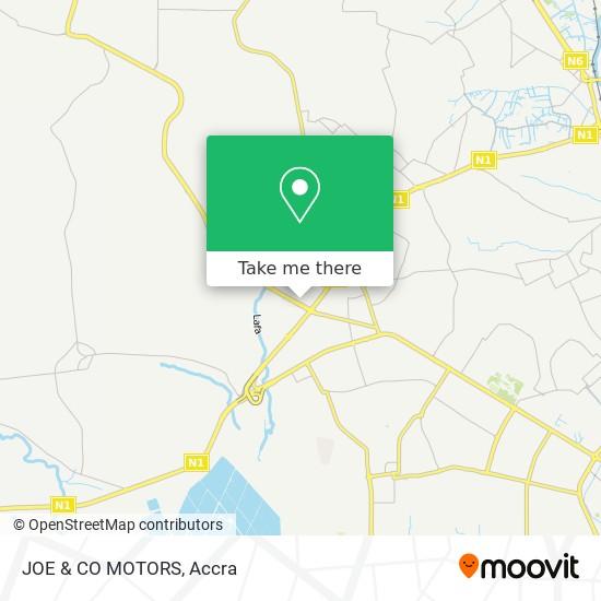 JOE & CO MOTORS map