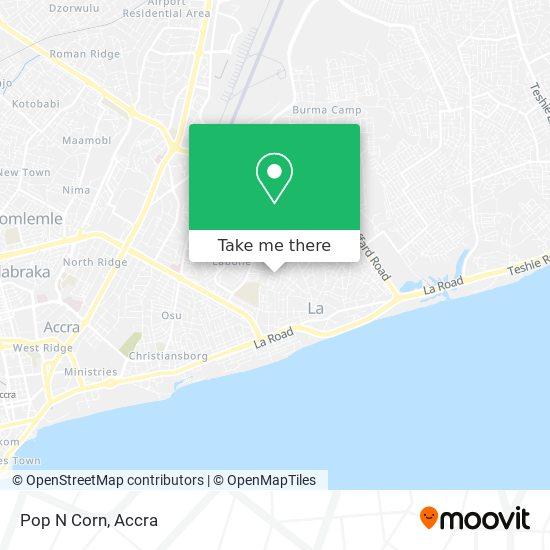 Pop N Corn map