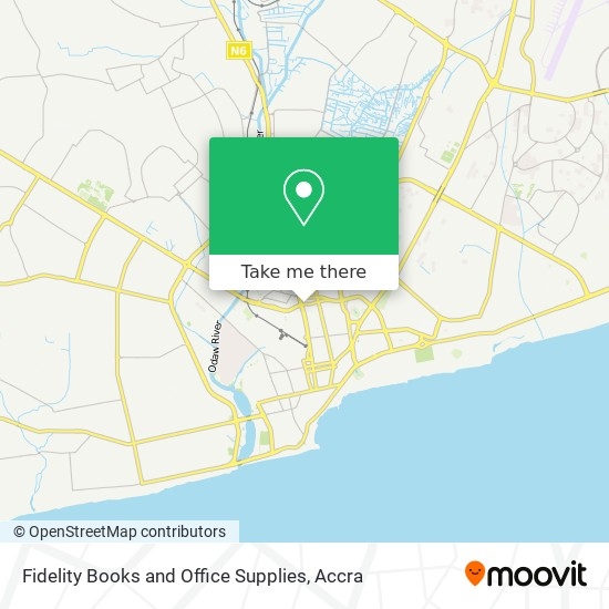 Fidelity Books and Office Supplies map