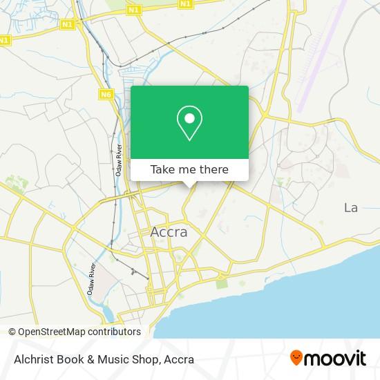 Alchrist Book & Music Shop map