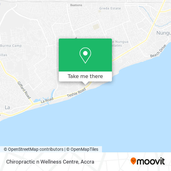 Chiropractic n Wellness Centre map