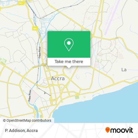P. Addison map