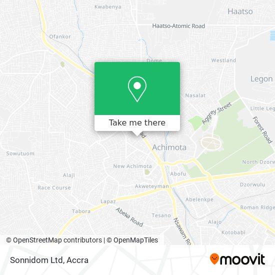 Sonnidom Ltd map