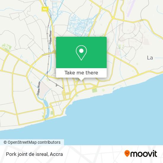 Pork joint de isreal map