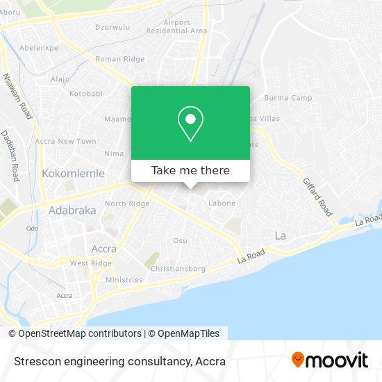Strescon engineering consultancy map