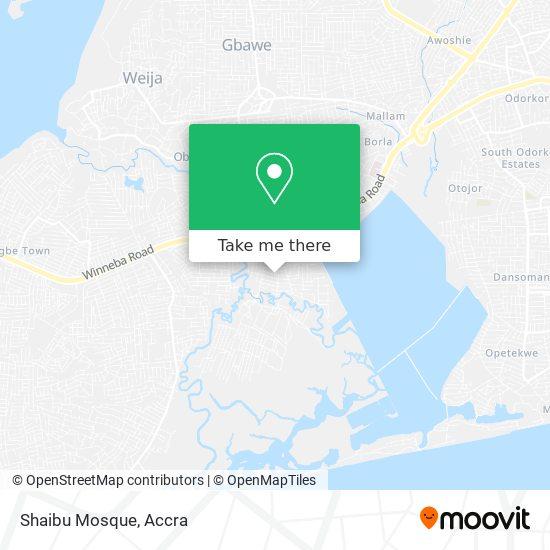 Shaibu Mosque map